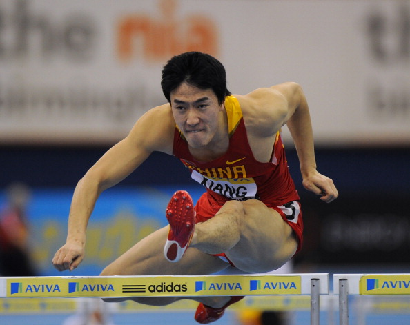 China's Xiang Liu has faced hurdles that he has failed as well as cleared in his career...but he is on the biggest international Asian stars ©Getty Images