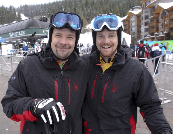 Chris Williamson (left) will be the most experienced member of the squad having competed in three Paralympic Games ©Toronto Star/Getty Images