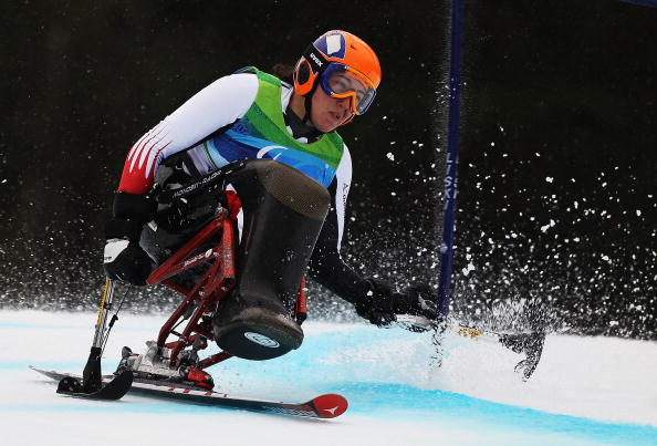 Claudia Loesch is one of the highest profile athletes to come through the IPC European Para Snow Sport Youth Circuit ©Getty Images