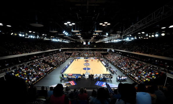 Damage to the floor of the Copper Box has forced the relocation of four netball matches ©Getty Images
