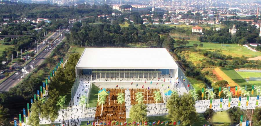 Work at Deodoro, which is due to host seven Olympic sports, was not included in the budget released today for Rio 2016 ©Rio 2016