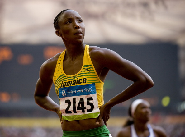 Double Olympian Sherone Simpson has proclaimed her innocence after testing positive in 2013 ©McClatchy-Tribune/Getty Images