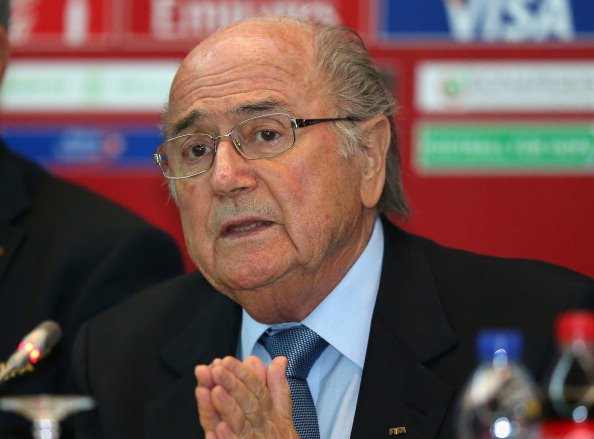 Sepp Blatter has criticised Brazil's preparations for the 2014 World Cup ©Getty Images