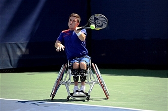 Gordon Reid warmed up for the Australian Open by winning two titles at the Sydney Olympic Park ©Getty Images