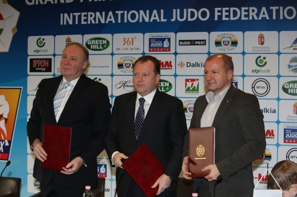 Hungary will host a Judo Grand Prix from 2014 - 2016 following an agreement with the IJF ©IJF