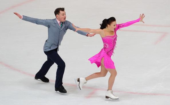 Ice dancers Alexei Sitnikov and Julia Zlobina will compete for Azerbaijan at Sochi 2014 ©Getty Images