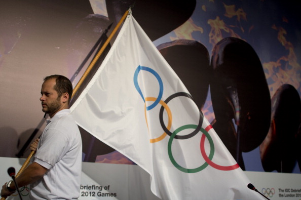 India's athletes will compete under the Olympic flag at Sochi 2014 ©AFP/Getty Images