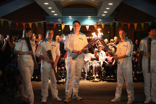 The Flame for the London 2012 Paralympics was lit at Stoke Mandeville ©Getty Images