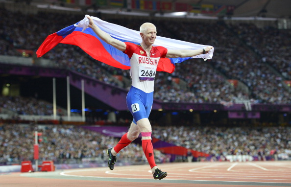 London 2012 champion Fedor Trikolich is one of Russia's biggest Paralympic stars and is already a confirmed participant in the Relay ©AFP/Getty Images