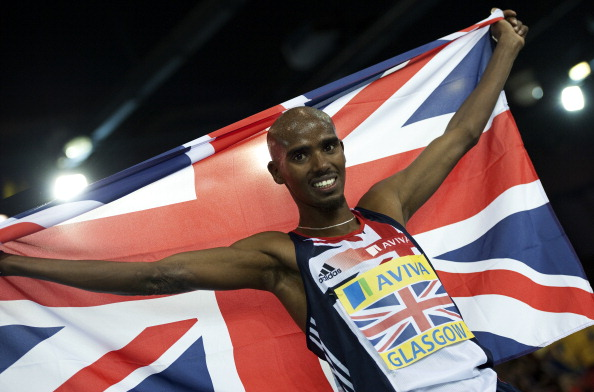 Mo Farah will face the world's best when he makes his debut over 26.2 miles in London ©AFP/Getty Images