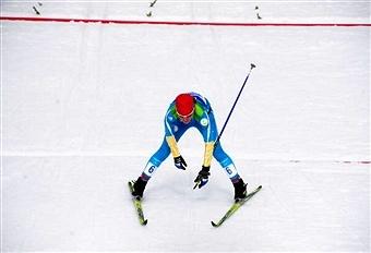 Oleksandra Kononova of the Ukraine was the only non-Russian winner on final day in Vuokatti ©Getty Images