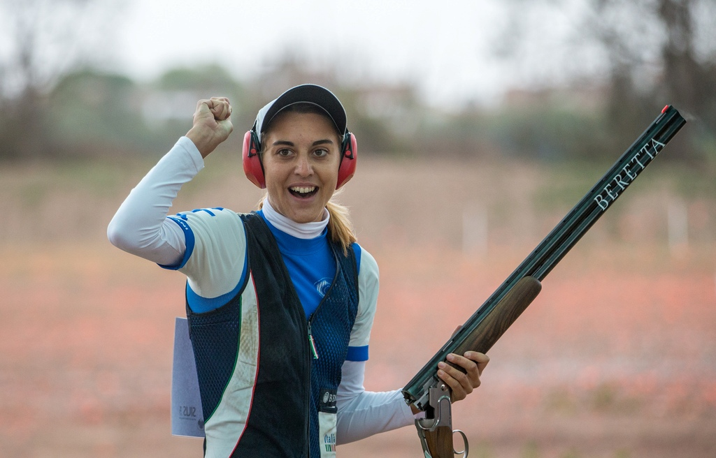 Olympic and world champion Jessica Rossi has been crowned ISSF Female Shooter of the Year ©ISSF