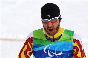 Paralympian Brian McKeever impressed during the Candian Olympic trials today in Canmore winning the men's race ©Bongarts/Getty Images
