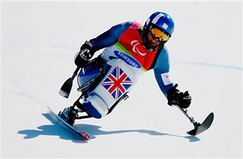ParalympicsGB athlete ambassador Sean Rose competed at two Winter Paralympic Games in Turin 2006 and Vancouver 2010 ©Getty Images