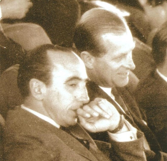 Pedro Oscar Mayorga (left), pictured here with Prince Philip, has passed away at the age of 93 ©FEI