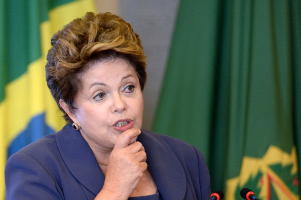Dilma Rousseff will meet Thomas Bach in the Brazilian capital city of Brasília ©AFP/Getty Images