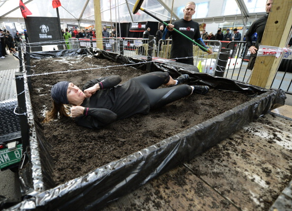 Richard Lee claimed that the Spartan Race series will see up to 1.5 million participants in 2014 ©AFP/Getty Images