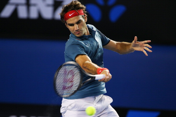 Roger Federer was back to his best in his straight sets wins over Jo Wilfried-Tsonga ©Getty Images