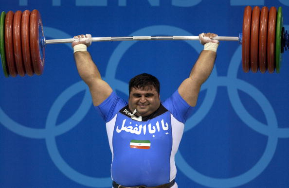 Rugby has got a long way to go to match the popularity of double Olympic champion Hossein Reza Zadeh in Iran...but is making progress ©Bob Thomas Sports Photography/Getty Images