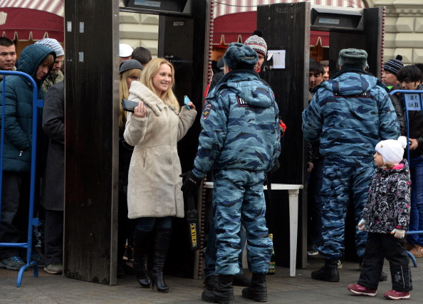 Russia this week launched one of the biggest security operations in Olympic history ©AFP/Getty Images