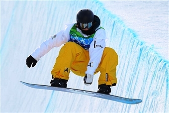 Scott James is one of two Australian winter Olympians involved in a new campaign launched by Samsung ©Getty Images