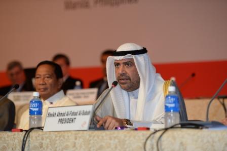 Sheikh Ahmad Al Fahad Al Sabah has praised the 2015 host of the OCA General Assembly Turkmenistan ©OCA