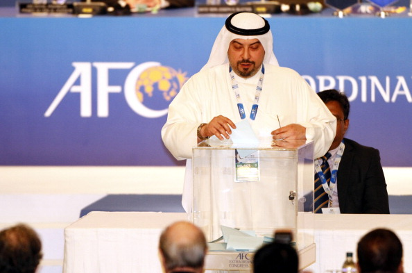 Sheikh Talah is also President of the Kuwait Football Association ©Getty Images