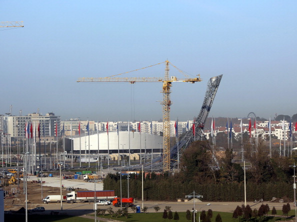 """A """"construction mafia"""" with links to Russian President Vladimir Putin have benefited from building work for Sochi 2014, Gian France Kasper has alleged ©Anadolu Agency/Getty Images"""