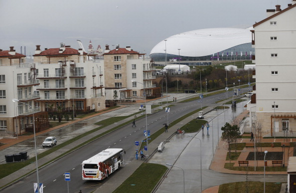 Sochi 2014 has opened all three of its Olympic Villages ©AFP/Getty Images