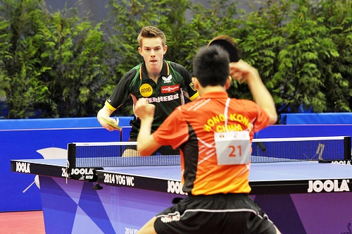 Some of the world's best young table tennis talent have been qualifying for Nanjing 2014 ©ITTF