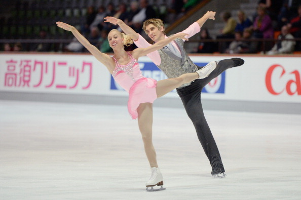 Stacey Kemp and David King are also going to Sochi for their second Winter Olympics ©Bongarts/Getty Images