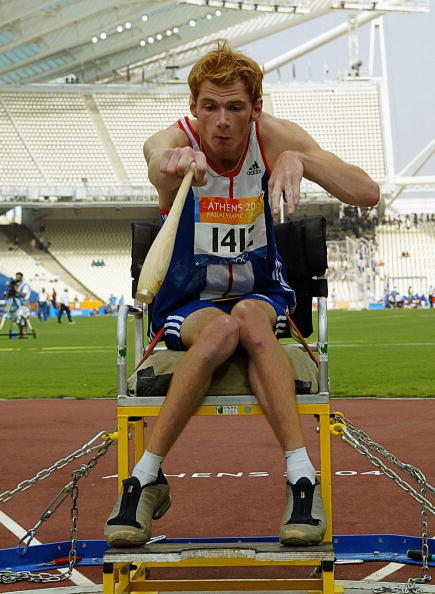Stephen Miller won gold medals at the Atlanta 1996, Sydney 2000 and Athens 2004 Paralympics ©Getty Images