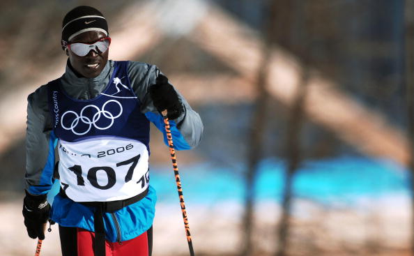 Sub Saharan African viewers will be able to watch athletes attempt to emulate the likes of Kenya's Winter Olympian cross country skier Philip Boit ©AFP/Getty Images