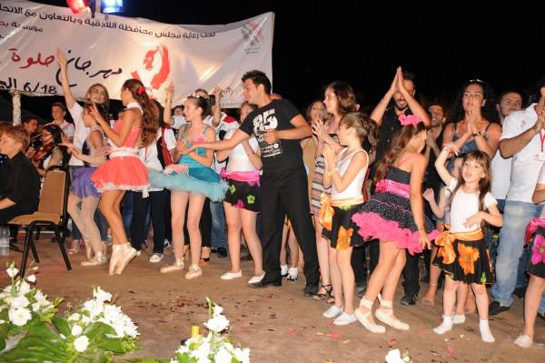 Syrian athletes are able to have fun through sport despite the ongoing political troubles ©Syrian Olympic Committee