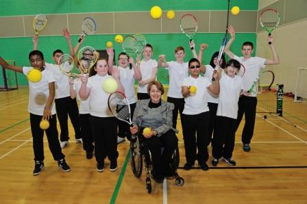 Tanni Grey Thompson will work with the Tennis Foundation to improve the Paralympic fortunes of British tennis ©Tennis Foundation