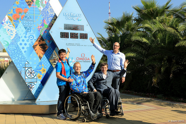 The Accessibility Map was launched in October 2012 to mark 500 days to go until the Sochi 2014 Winter Paralympic Games ©Sochi 2014