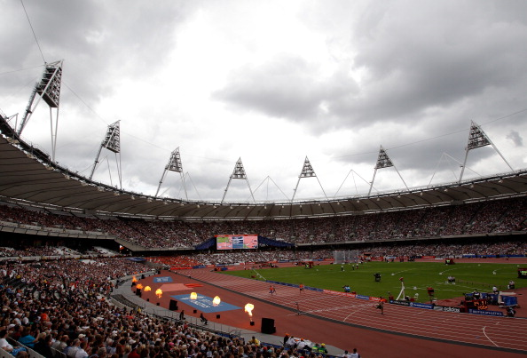 The Olympic Stadium last enjoyed sporting action during the Sainsbury's Anniversary Games last July ©Getty Images