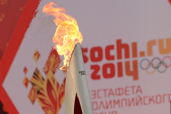 The Paralympic Torch Relay in Russia will follow a longest ever Olympic version lasting four months ©AFP/Getty Images