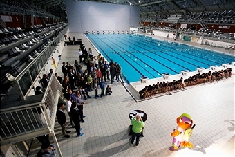The Pieter van den Hoogenband Stadium in Eindhoven will host the 2014 IPC Swimming European Championships in August ©Getty Images