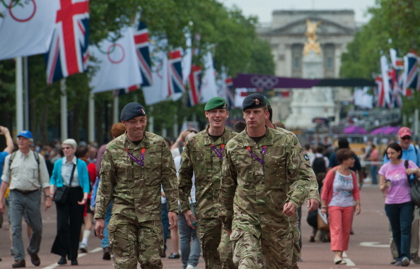 The armed forces will help with security at the Glasgow 2014 Commonwealth Games as they did at London 2012 ©AFP/Getty Images