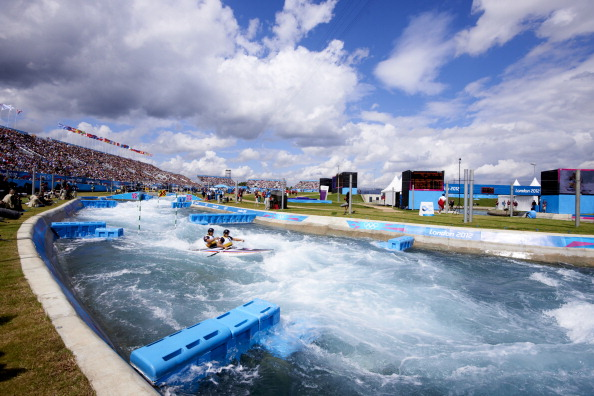 The centre gives visitors the opportunity to paddle down the same course as their Olympic heroes did at the 2012 London Olympic Games ©Getty Images
