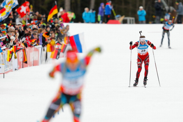 The popularity of Winter sports, and stars therein like biathlete Emil Hegle Svendsen, should booster support for Oslo 2022 ©Getty Images