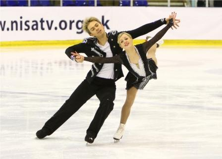The six figure skaters chosen to represent Team GB at Sochi next month have been named in the squad set to compete at the European Championships in Hungary ©NISA