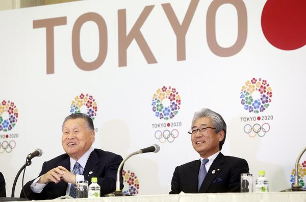 New Tokyo 2020 President President Yoshiro Mori was introduced today at an event at Tokyo Metropolitan Government by Japanese Olympic Committee head Tsunekazu Takeda ©Tokyo 2020