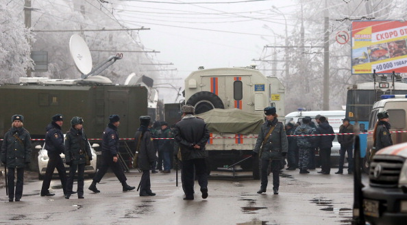Two suicide bomb attacks occurred in Volgograd late last month ©AFP/Getty Images