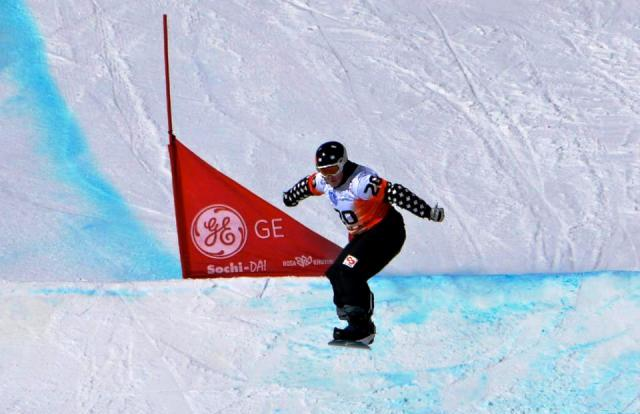 Tyler Mosher will lead the Canadian Para-snowboarding team at Sochi 2014 ©Tyler Mosher