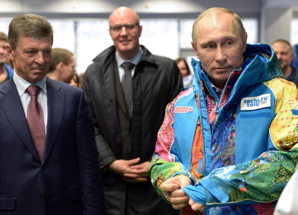 Vladimir Putin paid a personal visit to Sochi this week after the latest concerns ©AFP/Getty Images