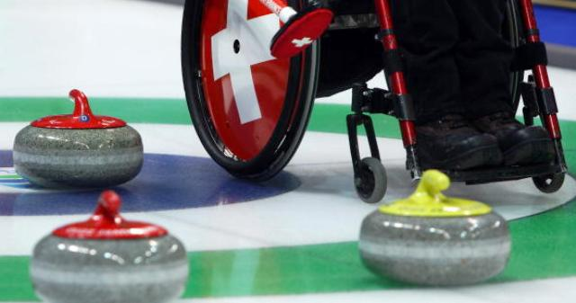 Wheelchair curling will be among the sports broadcast online via the IPC HD channels during Sochi 2014 ©Bongarts/Getty Images