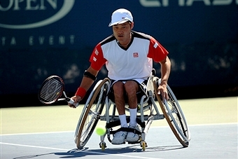 World number one Shingo Kunieda will head to Rotterdam next month looking to defend his title ©Getty Images