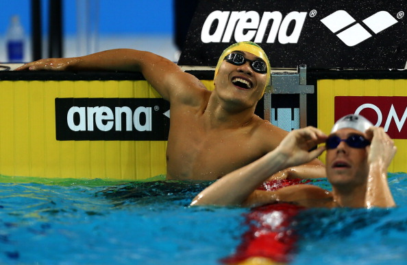 The deal struck between FINA and Arena has been described as 'historic' ©AFP/Getty Images